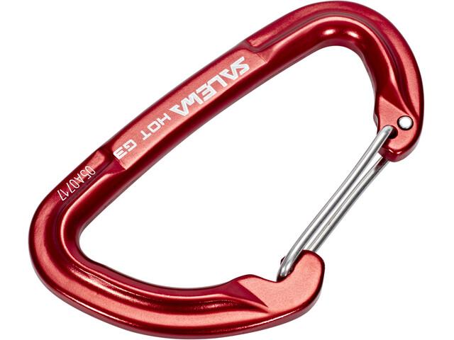 SALEWA Hot G3 Carabiner Wire red